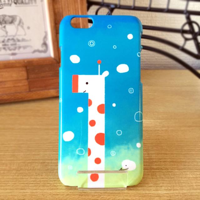 iPhone ハードケース │ キリンの空