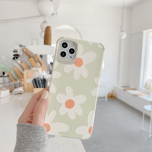 【オーダー商品】Daisy flowers iphone case