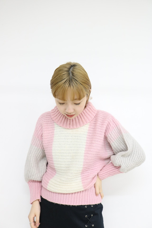 dolman sleeve design knit/ 1AWTP11-05