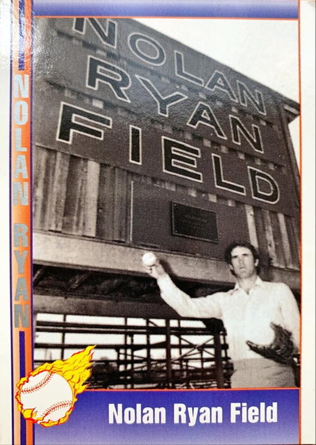 MLBカード 92PACIFICTRADING Nolan Ryan  #114 Nolan Ryan Field