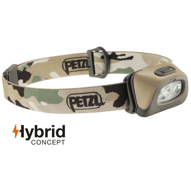 【PETZL】 TACTIKKA +RGB Head Light (Camo)