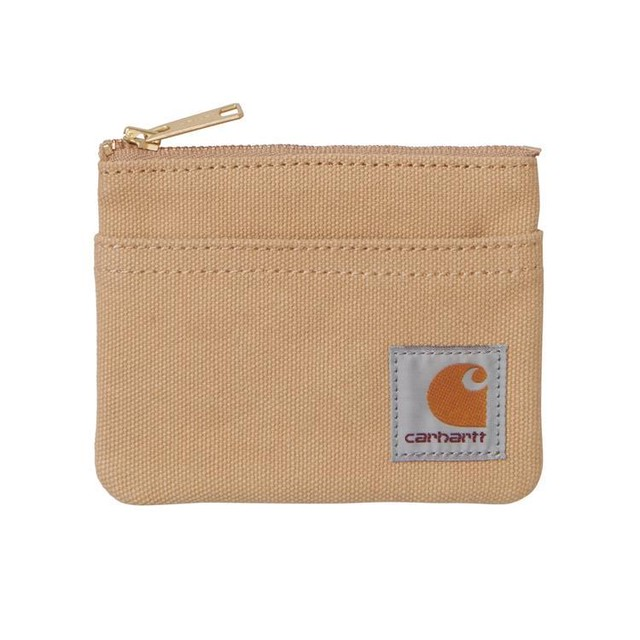 CARHARTT W.I.P CANVAS WALLET - Dusty H Brown