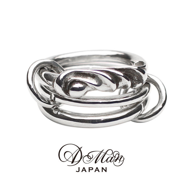 A Man Acanthus Three Links Ring エーエムエーエヌ アカンサススリーリンクスリング