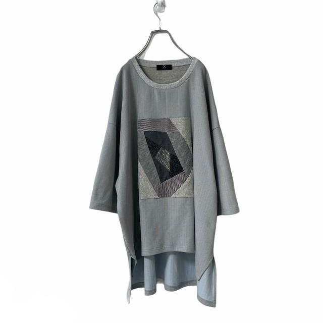 Slit-T-shirts1.2 PW (grey)