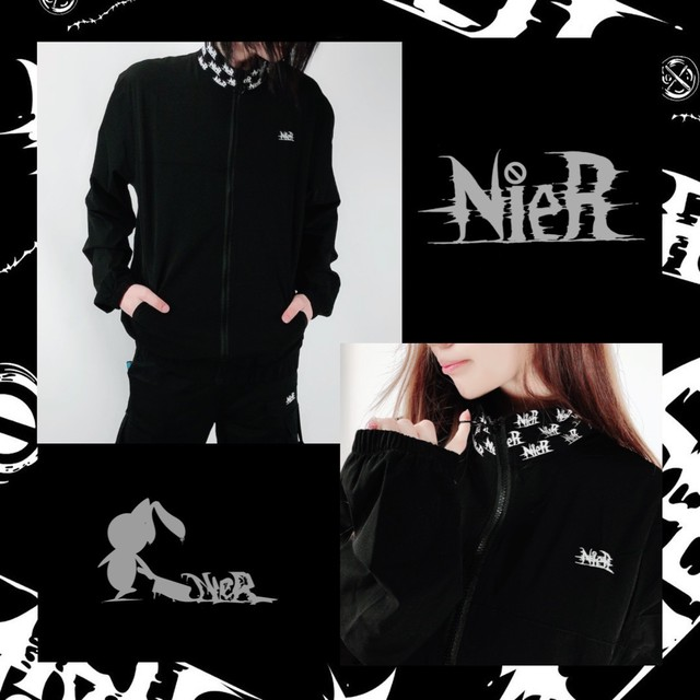 NieR ORIGINAL ZIP-UP blouson