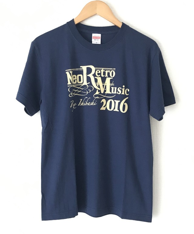 "LIVE TOUR ""Neo Retro Music 2016"" Tシャツ<インディゴブルー>"