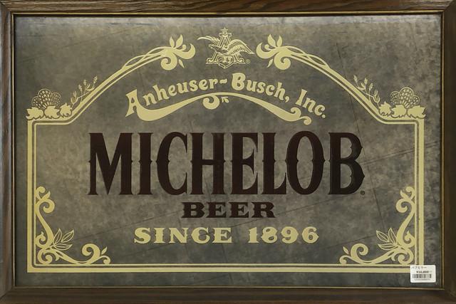 品番6374 パブミラー MICHELOB ミケロブ 鏡 ヴィンテージ