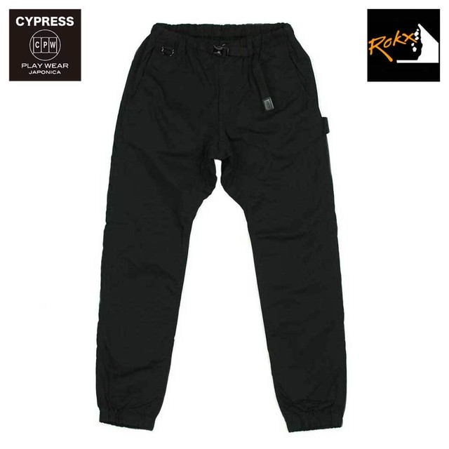 "CYPRESS ""PORRIMA"" PLAY PANTS with ROKX / BLACK"