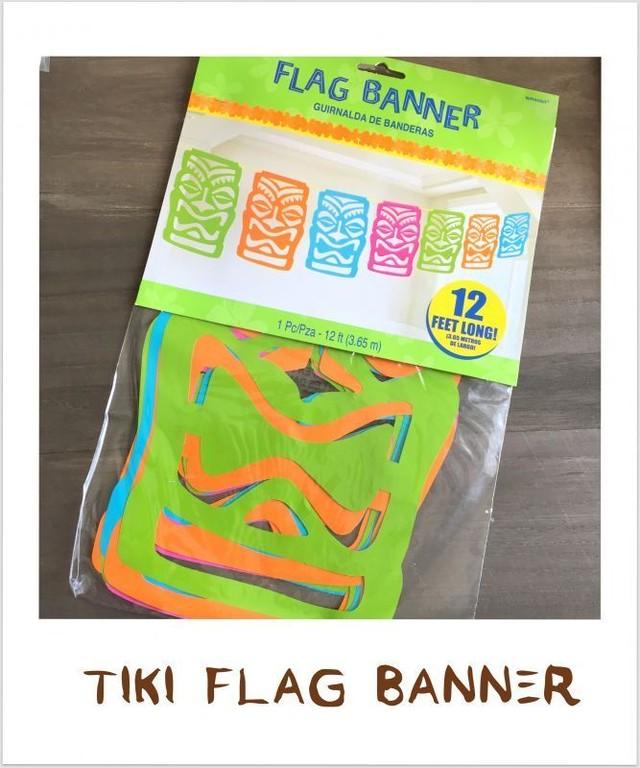 ティキ フラッグ バーナーTIKI FLAG BANNER♪