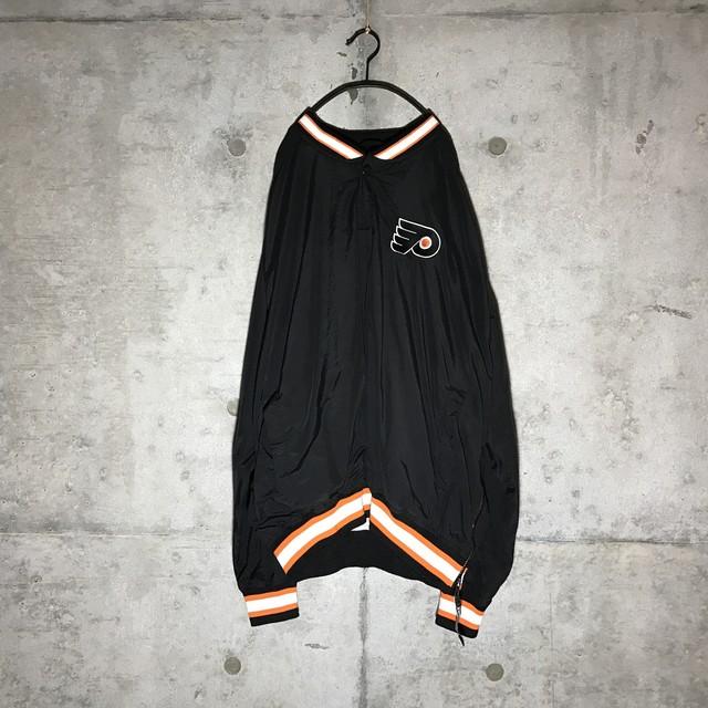 [used] orange lined starter pullover box