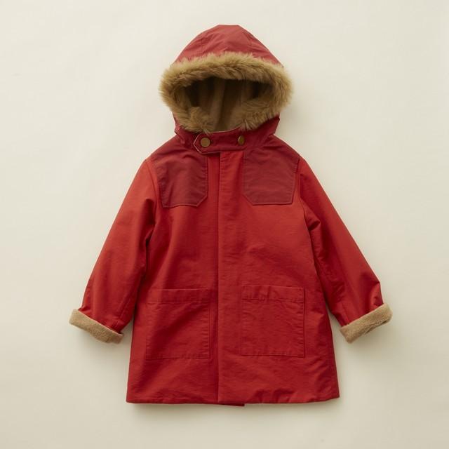 (予約8月入荷)【21AW】eLfinFolk(エルフィンフォルク) high lander coat(110/120/130) コート アウトドア