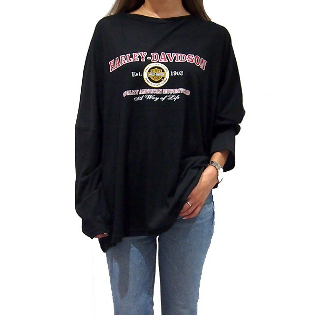 【NEW】 HARLEY BIG L/S Tee