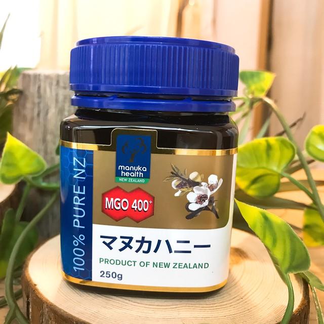 マヌカハニー【MGO 400+】 250g