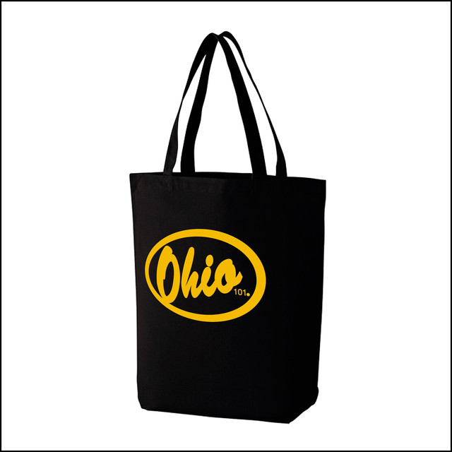 OHIO101 LOGO TOTO BAG black