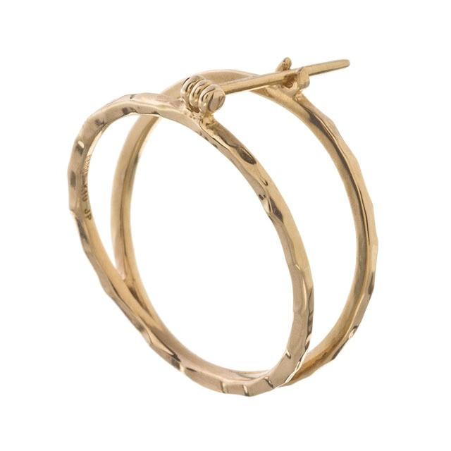 10K Circle Earrings 10金サークルイヤリング