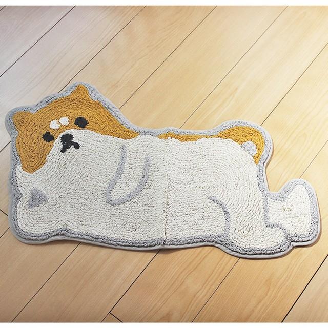 【おそいねアニマル】柴犬マット【シバイヌ 犬雑貨 イヌ】