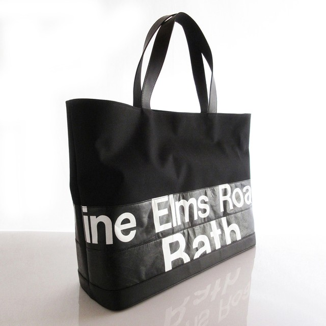 Tote Bag (L) / Black  TLB-0008