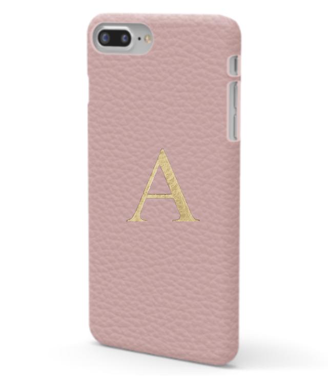 iPhone 7/8 Premer Shrink Leather Case (Blush Pink)