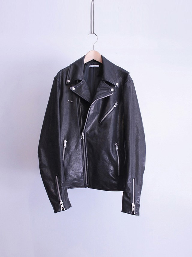 Garage.U.W LAMB LEATHER JACKET