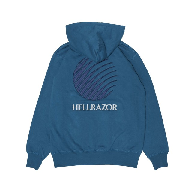 【HELLRAZOR】LOGO PATCH HOODIE