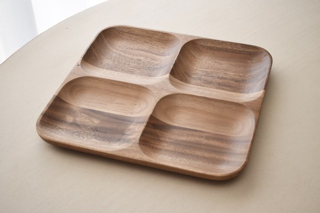 PENTIK wood tray combination