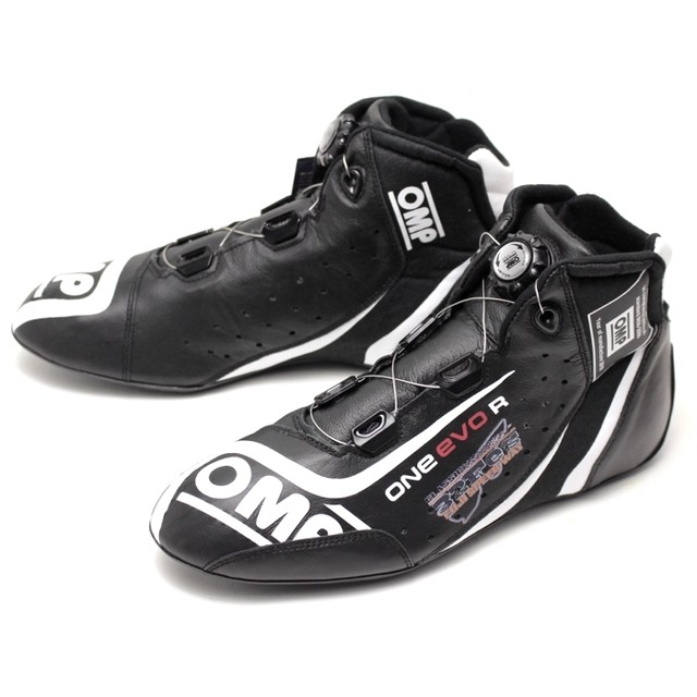 IC/805370 ONE EVO R SHOES BLACK/SILVER/YELLOW