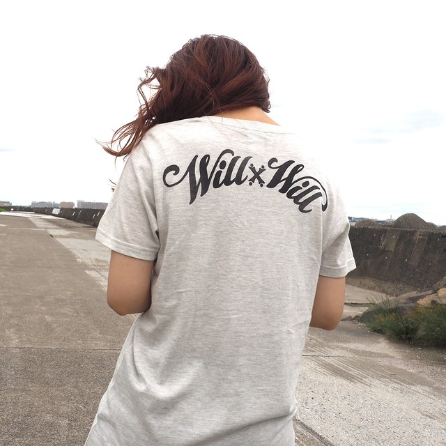 WillxWill Arch Logo V-neck Ash