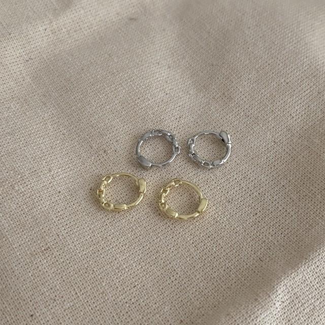 seattle(silver925/pierce)