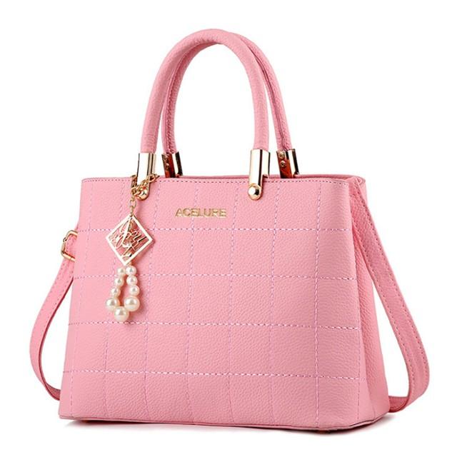 ハンドバッグレディース 財布サッチェルショルダーバッグ トートバッグ Pink