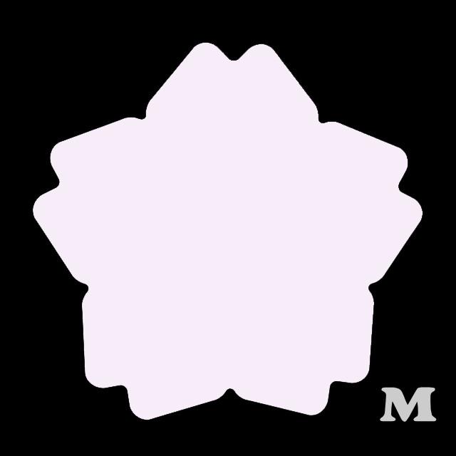 サクラ型(M)★ライトピンク