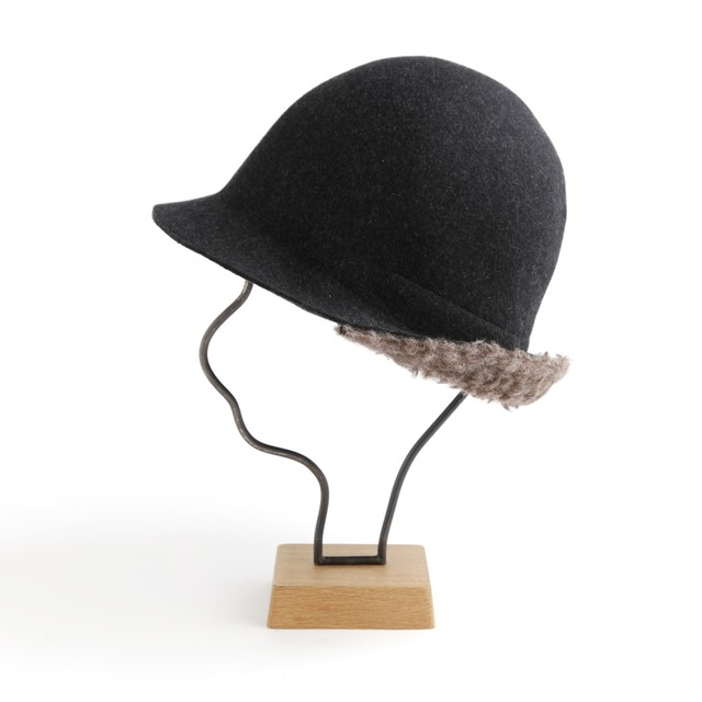 mature ha./BOXED HAT 101 mixbrown