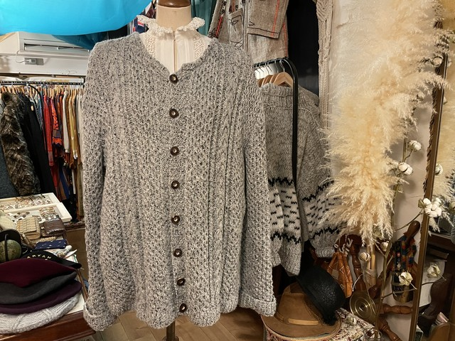 EU vintage Austria Tyrol knit cardigan