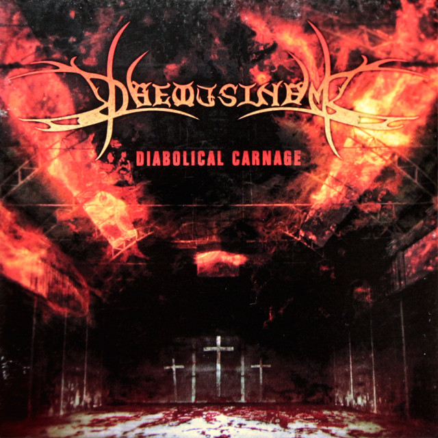 DAEMUSINEM『Diabolical Carnage』CD