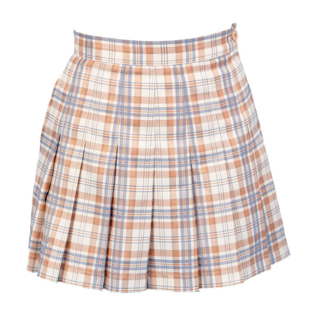 Check Skirt(Beige)
