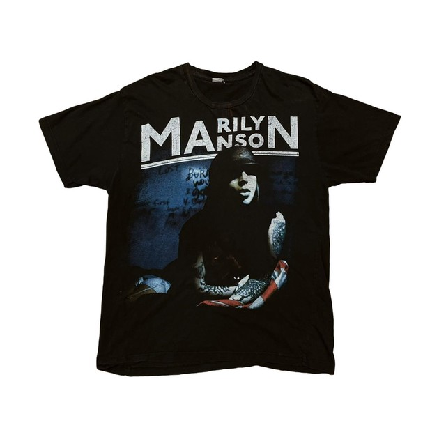 MARILYN MANSON THE HIGH END OF LOW TEE FIT LIKE XL 5375