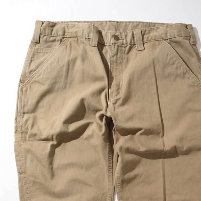 【W36】CARHARTT カーハート CHINO PANTS チノパンツ BEIGE ベージュ 36×30 400612200321