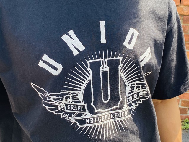 NEIGHBORHOOD × Union Los Angeles TEE BLACK LARGE 20IH8305