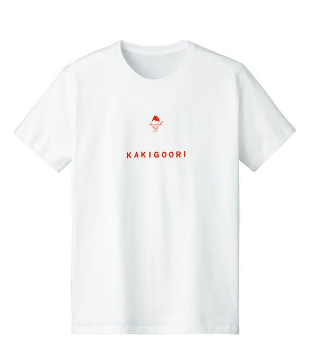 いちごシロップのかき氷Tシャツ