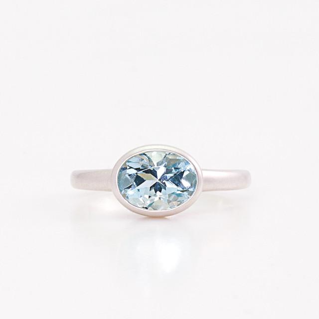 Aquamarine ring / SV