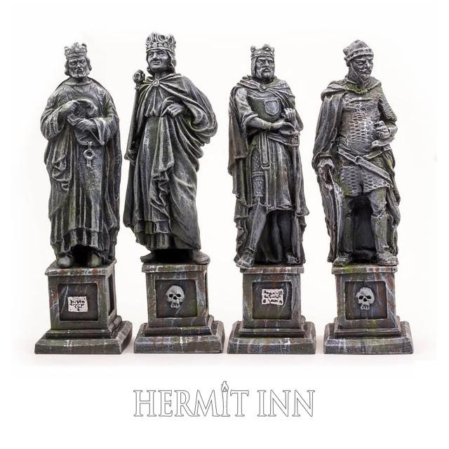 四賢王の像(4体) - メイン画像
