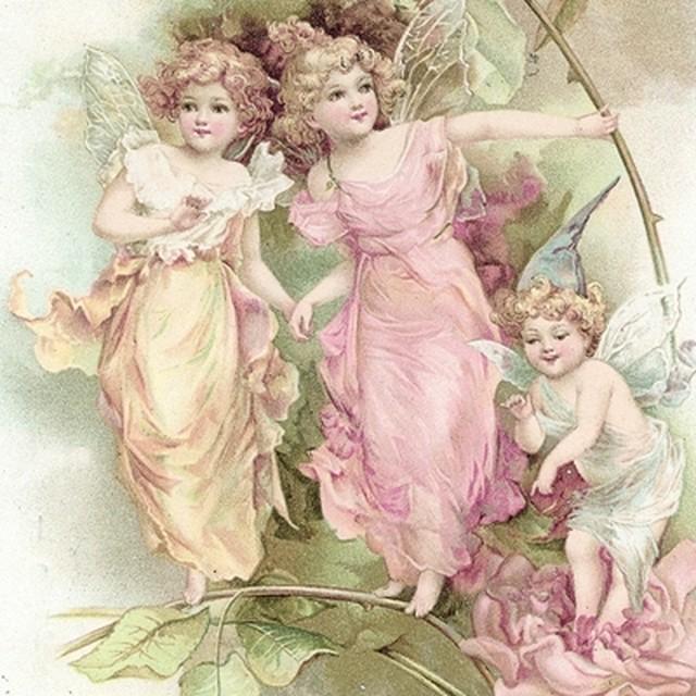 【Sagen Vintage Design】バラ売り2枚 ランチサイズ ペーパーナプキン 80016 ピンク