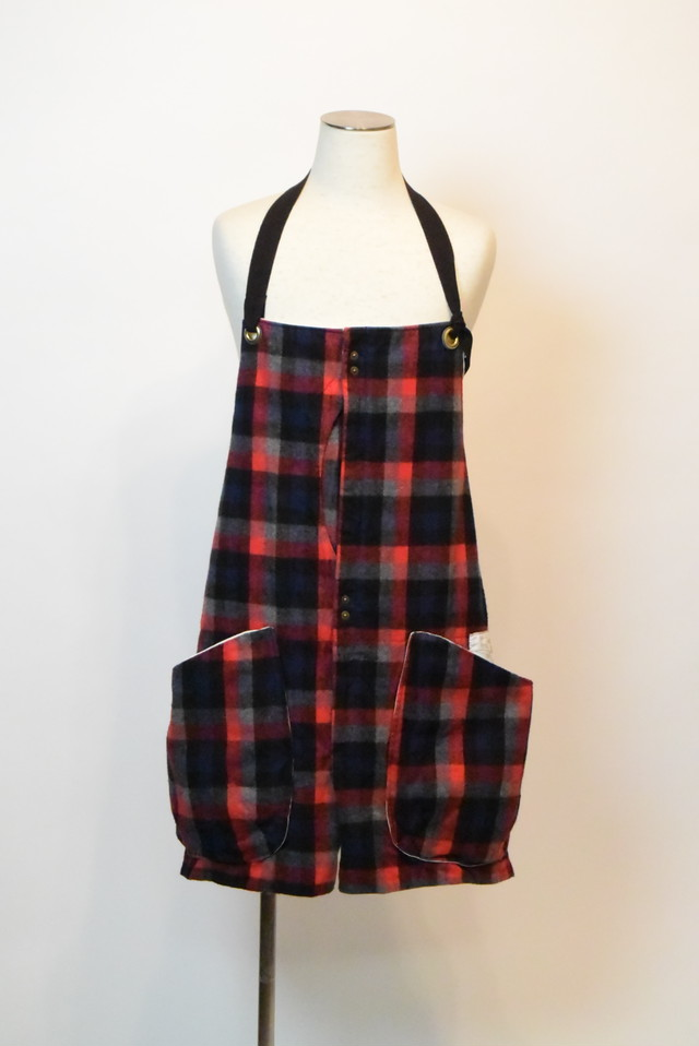 suolo GRIZZLY / check flannel   red×grey check