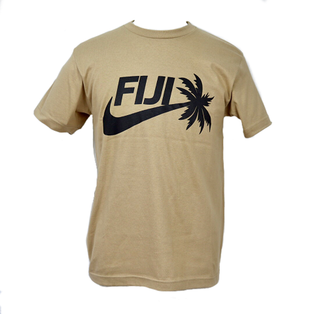 【YBC】Fiji 2019 T-Shirts Brown × Black