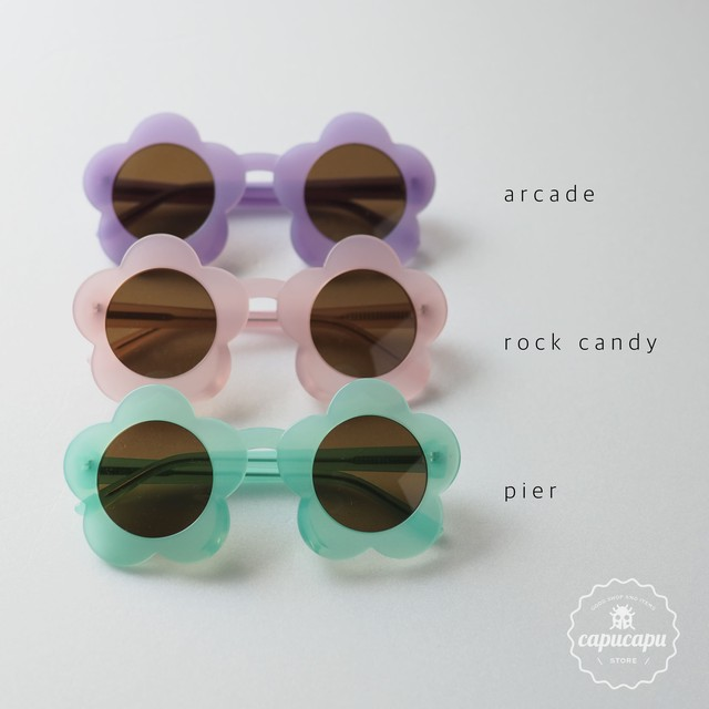 «即納» wunderkin co kids flower sunglass フラワーサングラス