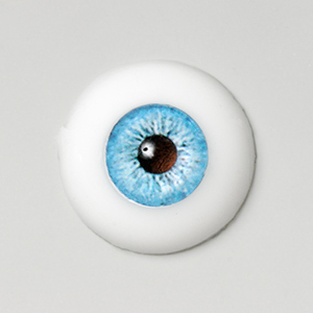 Silicone eye - 17mm Blue Ice