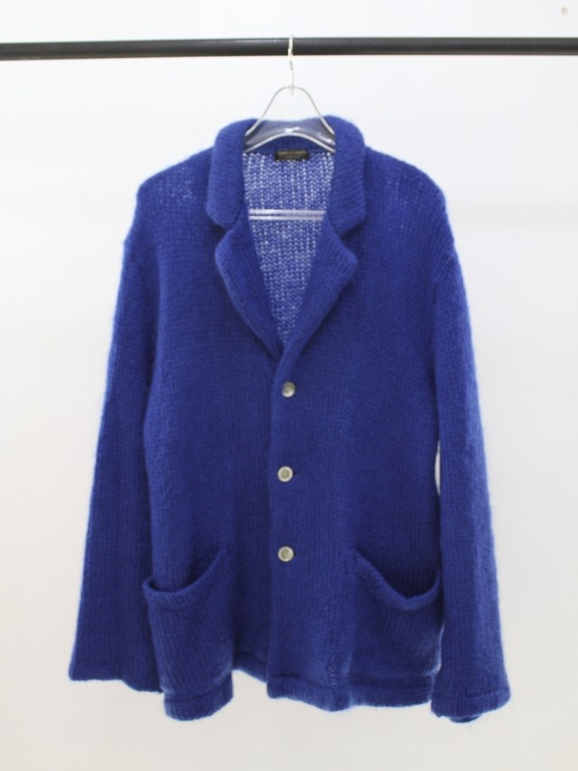 Used COMME des GARCONS HOMME PLUS 99A/W mohair knit cardigan