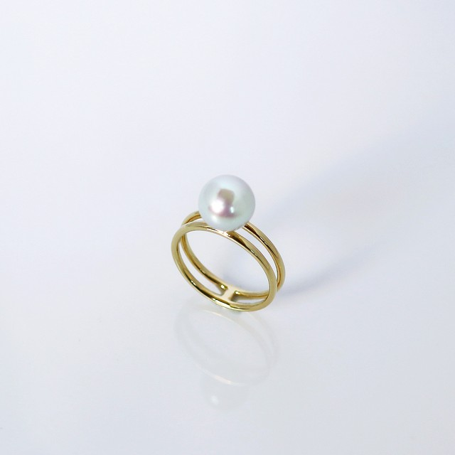 FREELY / Ring (Natural Grey)