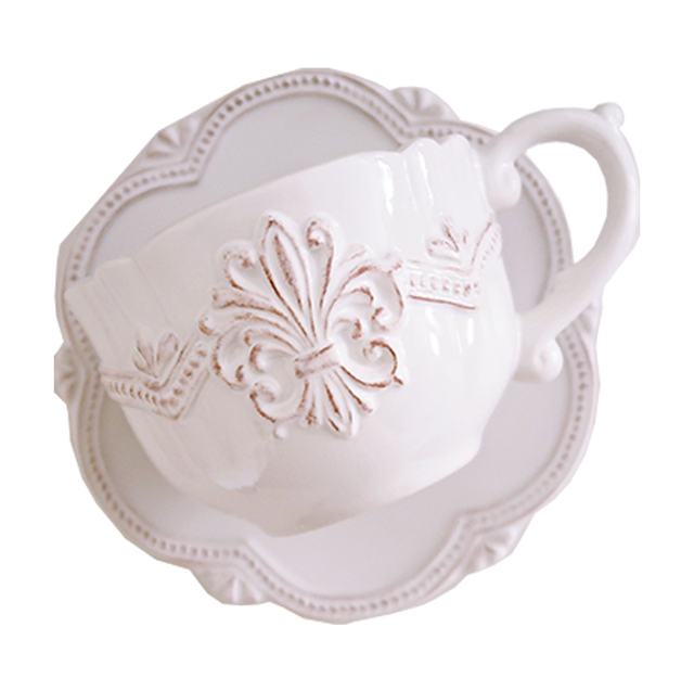 lace cup & saucer / レース カップ アンド ソーサー