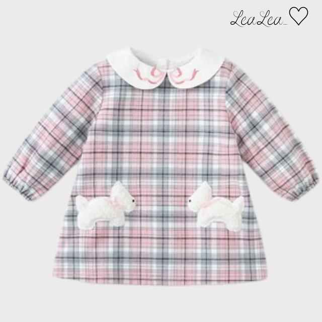 dave&bella2021AW新作♡チェックワンピース(73cm-130cm)| LeaLea...♡(レアレア)-海外の子供服セレクトショップ