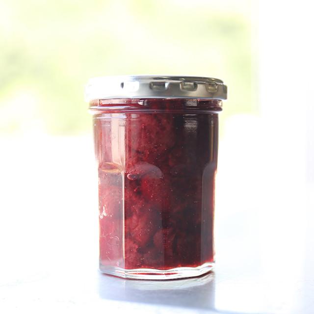 苺の甘いコンフィ 160g